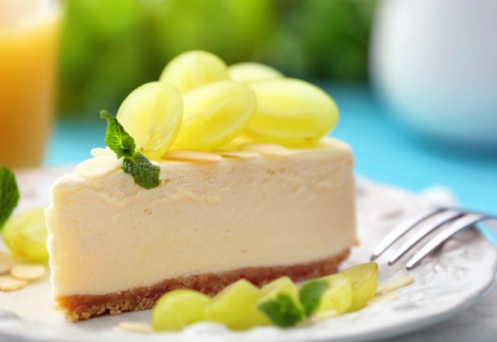 עוגת גבינה וענבי טלי