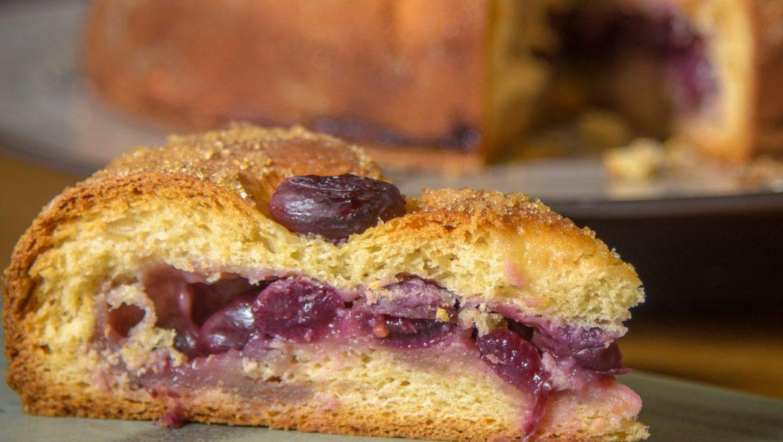לחם ענבים איטלקי